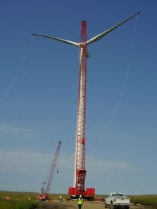 wind tower construction